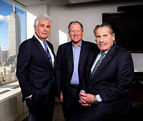 Photo of Jeff Citron, Sid Davidoff, Larry Hutcher, new york law firm