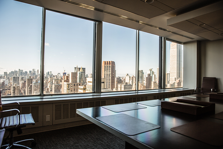 DHC board room view