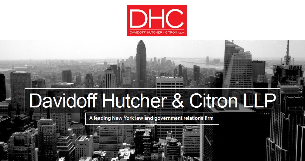 DHC law firm header image - New York City skyline